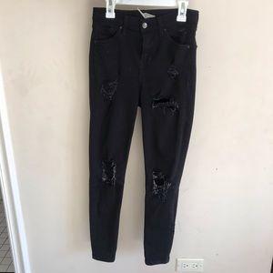 black topshop jeans